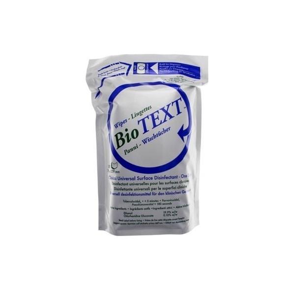 MICRYLIUM BioTEXT Euro Wipes 8 Rolls x 100 Sheets #04 TXWR 800