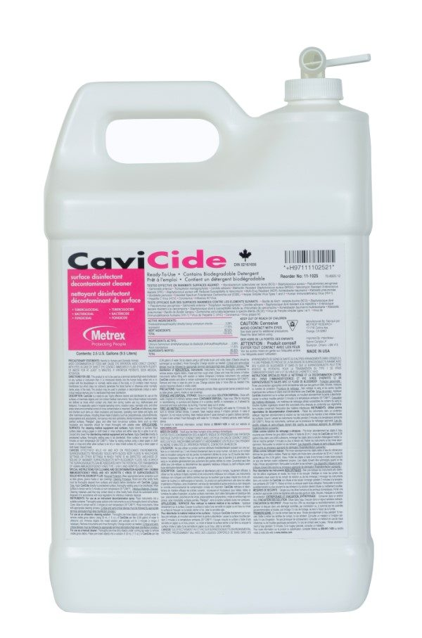 CAVICIDE Disinfectant 2.5-Gallon  #MET11-1025