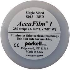 ACCUFILM I  Single-Sided (Parkell)