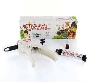 ACTIVA BIO-ACTIVE KIDS STARTER KIT 5mL/8gm SYRINGE PEDO SHADE