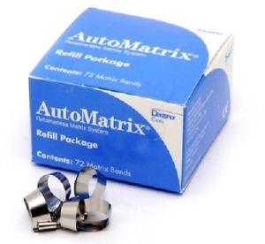 AUTOMATRIX BANDS REFILL Bx 72 (DENTSPLY)