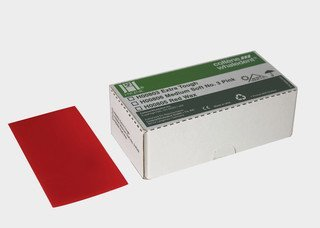 BASE PLATE Wax Red  Bx 1 lb  (Hygenic) #H00805 (Coltene)