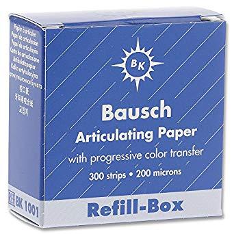 BAUSCH BK-1001 DISPENSER REFILL (300)  BLUE