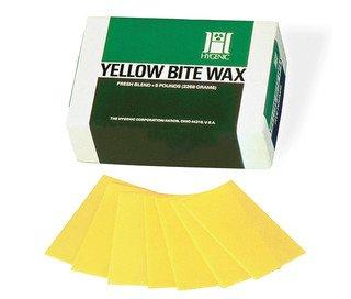 BITE WAX Yellow 1 lb (Hygenic) #H00807 (Coltene)