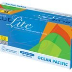BLUE LITE2 #OPXS-BL2 Ex-Small Nitrile Pwd Free Gloves (200) (OCEAN)