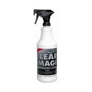 CLEAR IMAGE – RADIOGRAPHIC CLEANER  1 QT.(32 oz) w/Foam Applicator CI3212