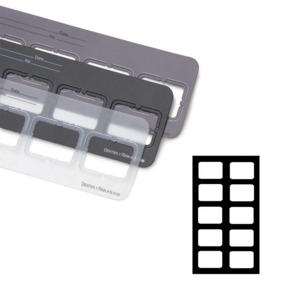 EZ-Tab #300123 Grey Mount #0(10)  Pkg/100  (DENTSPLY)