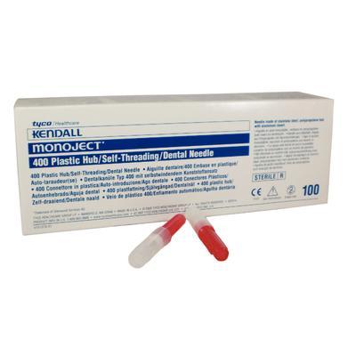 #400 Needles (Monoject) Bx 100 PLASTIC
