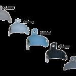 PALODENT Plus 5.5mm EZ Coat Matrix Mediumblue (90/Pk)#659640 (DENTSPLY)