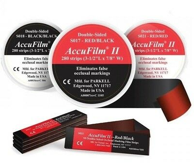 ACCUFILM II RED/BLACK Bx/280 (Parkell) S017