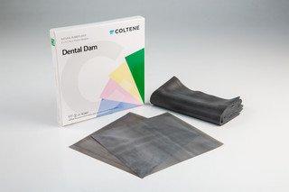 RUBBER DAM 6″x6″ Med. Blue  (36) (Hygenic) #H03530 (Coltene)