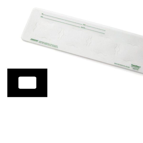 EZ-MOUNT #250178 1H #2 Translucent Plastic 100/Bx (DENTSPLY)