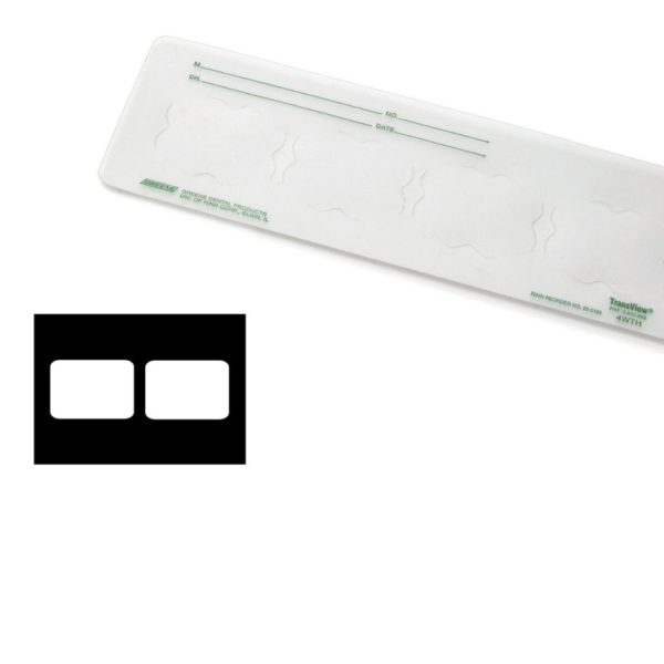GREENE #250179 2WTH #2 Translucent Plastic 100/Bx (DENTSPLY)