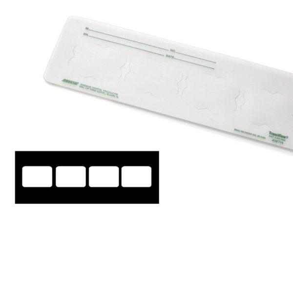 GREENE #250181 4WTH Translucent Plastic 100/Bx (DENTSPLY)