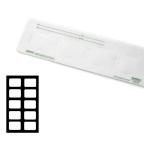 RINN #250821 EZ-MOUNT 10H #2 Translucent Plastic (DENTSPLY)