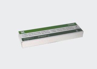 UTILITY WAX STRIPS White 3/16×11″ (80) Hygenic Round #H00818 (Coltene)