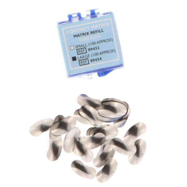 CONTACT MATRIX REFILL Thin Flex (100)