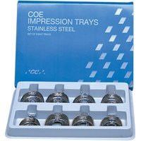 COE S.Steel SET/8 TRAYS Perforated   (GC) #264008