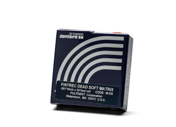 MATRIX STRIP DeadSoft  (.001/.25mm) 20′ Roll #M-DS (PULPDENT)