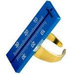 DIA-ENDORING w/ 30 mm blue ruler  (Diadent) #850-001
