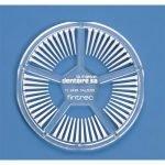 FINTREC TRANSPARENT WEDGES Bx/250 Silver Coated
