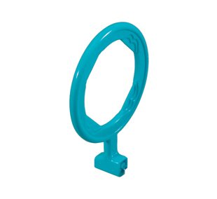 X-RAY RAPD (FLOW)ANTERIOR AIMING RING GREEN #40859