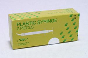 GC PLASTIC SYRINGE KIT Pk/2 (GC) #001175