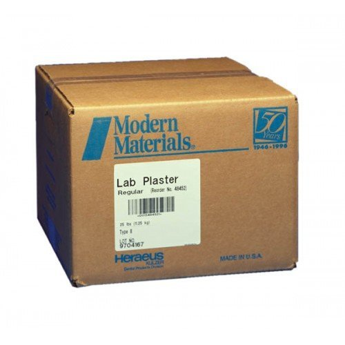 GYPSUM LAB PLASTER F.S White 25lb #50048512 (Kulzer)
