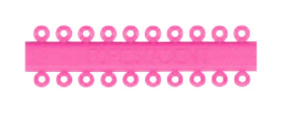HAPPY ELASTIC PINK ON RING (1000)  #659-0015 (SNF)