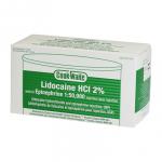 LIDOCAINE 2% GREEN (Cook Waite) 1:50000 50×1.8ml Cart