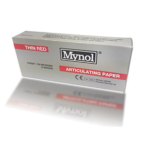 MYNOL  Red Thin     63 Mic.14 Books #11004