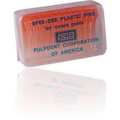 SPEE-DEE Plastic Pins (Pulpdent) Bx 60 #PIN