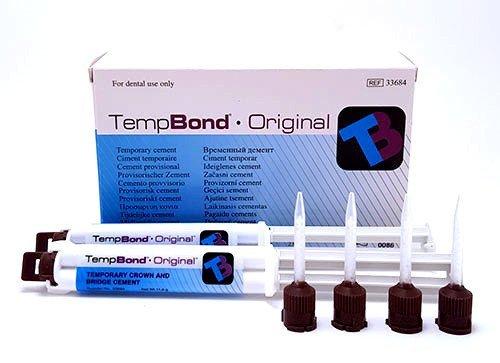 TEMP-BOND 2x5ml 11.8g' Automix ORIGINAL Syringe  (Kerr)  #33215