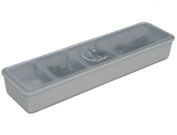 ZIRC TUB CUP+COVER 'Long'  GRAY #20Z473