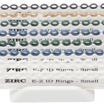 ZIRC E-Z ID RINGS SYSTEM PASTEL Small  25×8  (A-I)  #70Z105