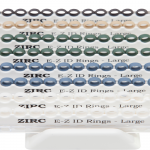 ZIRC E-Z ID RINGS SYSTEM PASTEL Large 25×8  (A-I)  #70Z205