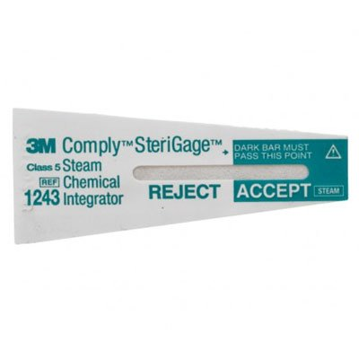 COMPLY (3M) #1243A Chemical Integrators For Steam Pack-500