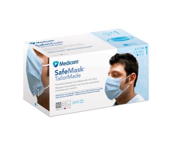 MASKS #2070 Earloop TAILORMADE L.B. L1 BLUE (Medicom) (50)