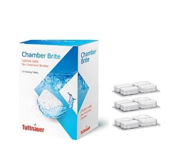 TUTTNAUER  CHAMBER BRITE Clean N Shine  (12 Tablets)  #CB0020